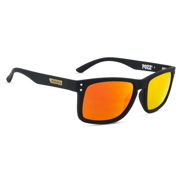 Sončna očala Pozz Rubber Black Revo